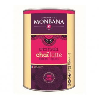 Préparation Chaï Latte Epices 800g - Monbana