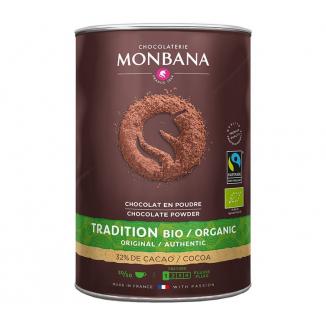 Chocolat en poudre trésor de chocolat - Monbana - 1 kg