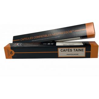 Capsules Papouasie Compatible Nespresso®