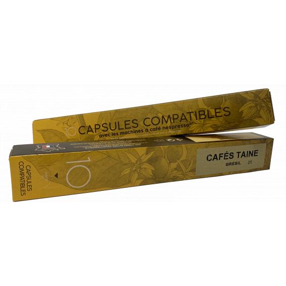 Capsules Brésil Compatible Nespresso®